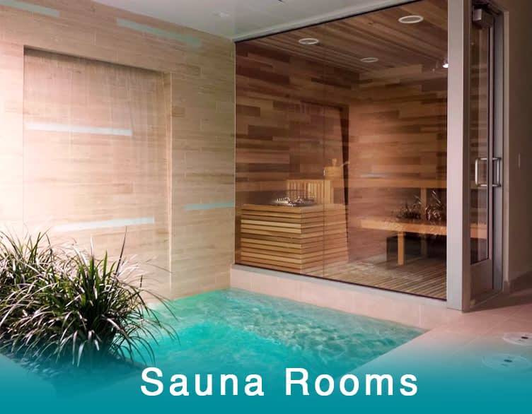 Saunas, Wood Saunas, Heat therapy