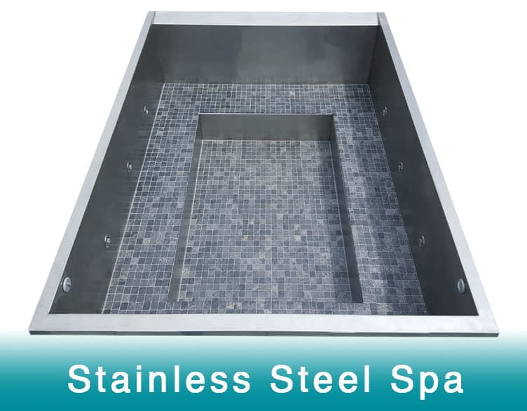 Stainless Steel Spas, Stainless Steel Jacuzzi, Stainless Steel Hot Tub